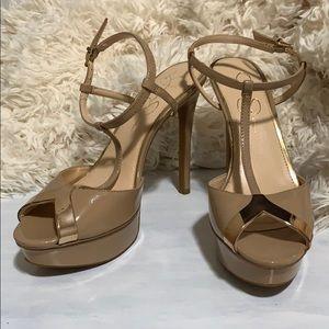 Sexy Jessica Simpson platform sandals